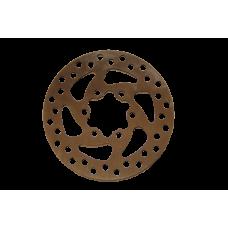 Ротор дискового тормоза диаметром 120мм для электросамокатов и мини-велосипедов