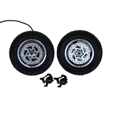 Электронабор: заднее мотор-колесо Вольта 48v1000w(2000w) в  ободе 10', переднее колесо 10' и дисковые тормоза