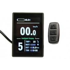 Дисплей LCD-8H+USB для контроллеров KUNTENG на 24v, 36v, 48v