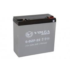 Тяговый свинцово-кислотный аккумулятор AGM Вольта12v22Ah