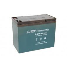 Тяговый свинцово-кислотный аккумулятор AGM 12v45Ah