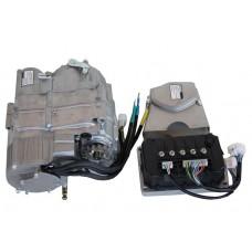 Электродвигатель 72v2000w c 4-х скоростной КПП и контроллером