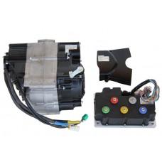 Электродвигатель 72v3000w c 4-х скоростной КПП и контроллером