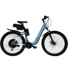 Электровелосипед складной  Вольта Де люкс 2000