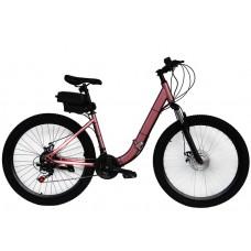 Электровелосипед складной  Вольта Де люкс 750