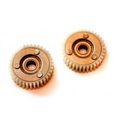 Шестерня для редукторов мотор колес с номинальной мощностью 200 – 350w, в сборе с подшипником
