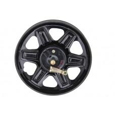 Усиленное переднее колесо 14`` с барабанным тормозом, с покрышкой и крылом