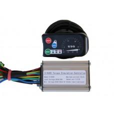 Контроллер Volta 36 V/250W мини  для мотор колеса Q75 с LED дисплеем в комплекте
