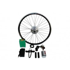Полный электронабор с усиленным мотор-колесом 24v350w в ободе 16' - 28' и литий ионной АКБ 24v10Ah