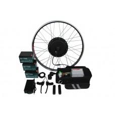 Полный электронабор с мотор-колесом 36v600/1250w в ободе 20'-28' и аккумуляторами 36v13Ah