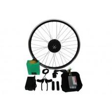 Полный электронабор с мини мотор-колесом  48v600/1000w в ободе 16'- 28'и литий ионной АКБ 48v10Ah