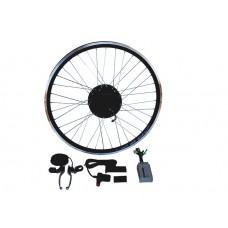 Электронабор с мини мотор-колесом  36-48v600/1000w в ободе 16'- 28'