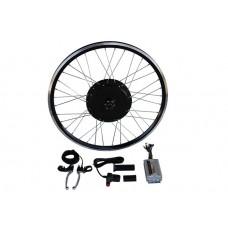 Электронабор с задним мотор-колесом 36-48v600/1250w в ободе 20'- 28' под 1 звезду