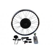 Электронабор с мотор-колесом 3000/6000w  для установки сзади
