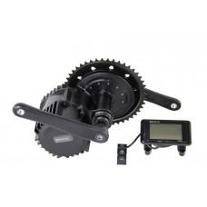 Миддрайв мотор колесо Бафанг 48v1000w с LCD дисплеем и набором комплектующих