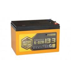 Тяговый свинцово-кислотный аккумулятор AGM 12v13.0Ah Графен - нано