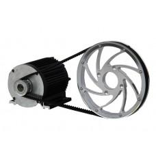Электродвигатель 72v2500w в комплекте с трансмиссией