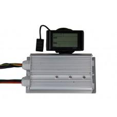 Синусный контроллер Вольта 48v - 72v 60A (для мотор колёс 1.5 – 2.5 квт.)  с LCD дисплеем в комплекте