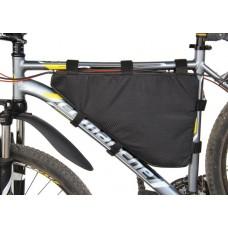 Велосумка треугольная на раму велосипеда