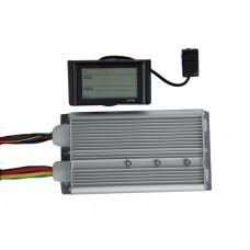 Синусный контроллер Вольта 48v-72v 80A (для мотор колёс 2 – 4 квт.)  с LCD дисплеем в комплекте