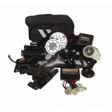 Электронабор с редукторным электродвигателем DC 24v250w