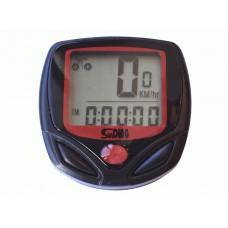 Велокомпьютер для велосипедов и электровелосипеда с LCD дисплеем VK - 50
