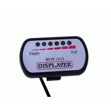 Светодиодный индикатор уровня зарядки аккумуляторной батареи на 60v