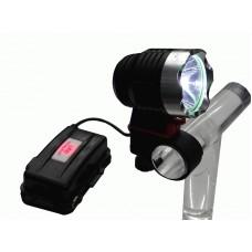 Aккумуляторный светодиодный  фонарик  с сверхмощным светодиодом