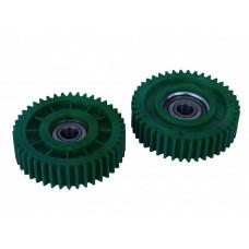 Шестерня для редукторов мотор колес с номинальной мощностью 400 - 600w, в сборе с подшипником