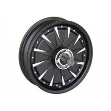 Мотор-колесо QS motor 48v2000w(4000w) с ободом 12' для электроскутера