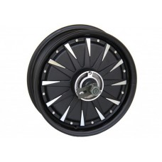 Мотор-колесо QS motor 72v3000w(6000w) с ободом 12' для электроскутера