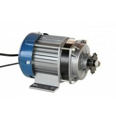 Электродвигатель  48V500W с планетарным редуктором