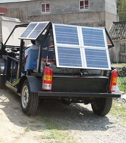Электромобиль на солнечных батареях своими руками видео