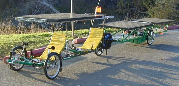 Велосипед на солнечных батареях своими руками