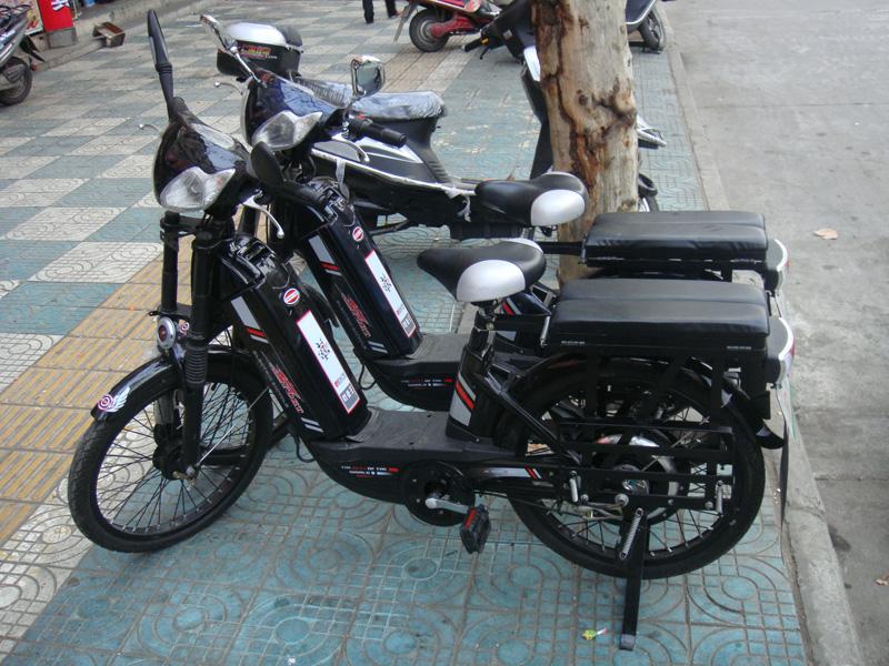 4) Мотор колесо