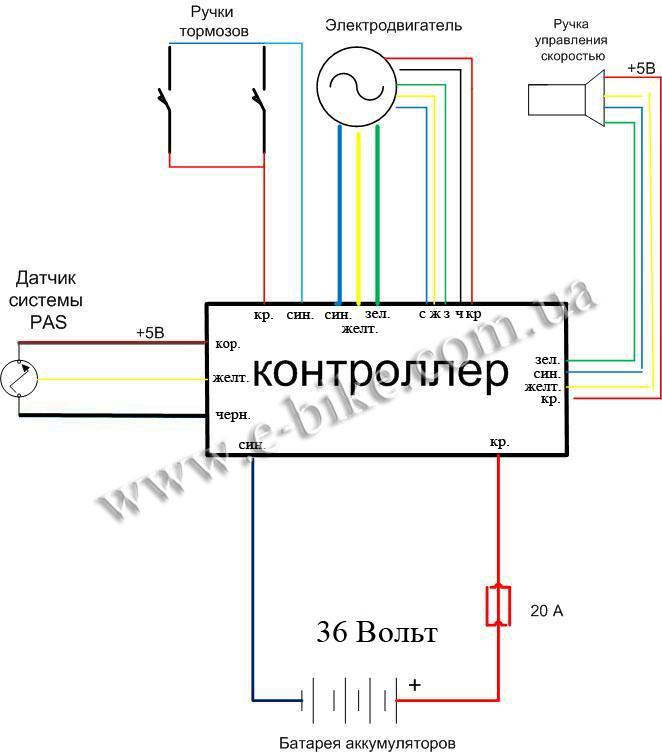 cхема электрических соединений