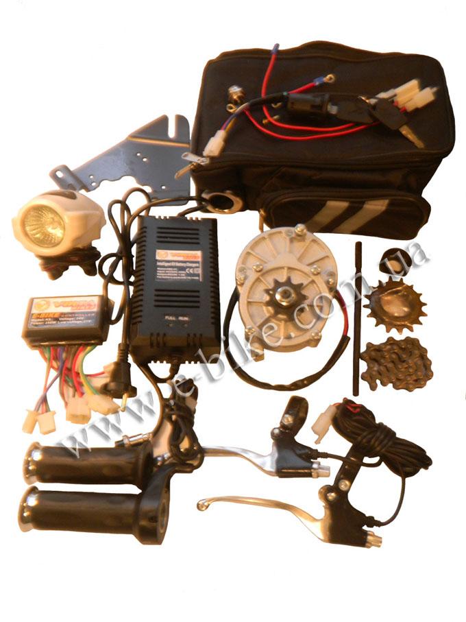 Инструкция монтажа подвесного электродвигателя Volta bikes 250ВТ, 24В