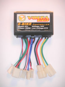 контролер 24 В, 250ВТ подвесной электродвигатель электровелосипеда