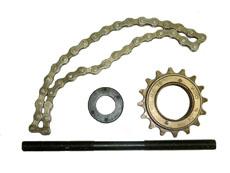 шестерня, ось, цепь, гайка подвесной электродвигатель велосипеда