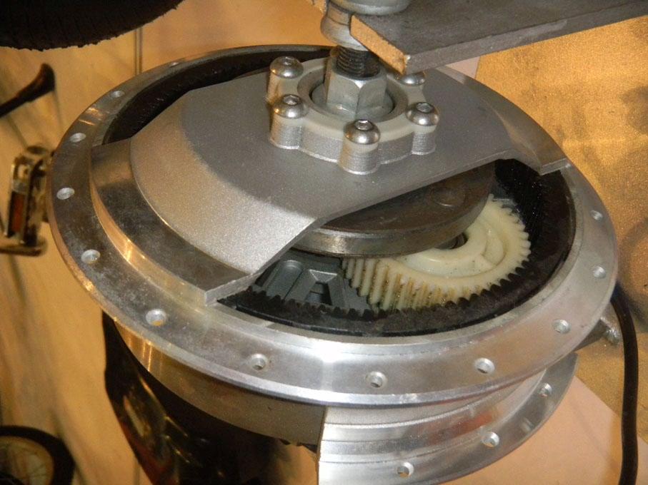редукторное мотор колесо для электровелосипеда