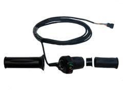 ручка газа с датчиком уровня заряда аккумуляторов электровелосипед