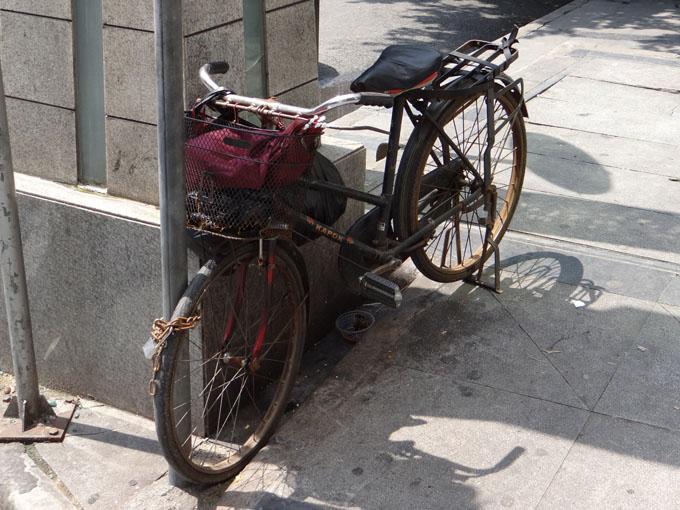 китайский велосипед через пару лет эксплуатации