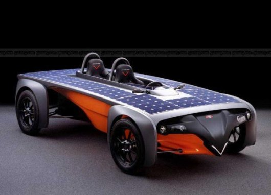 автомобиль солнечные батареи