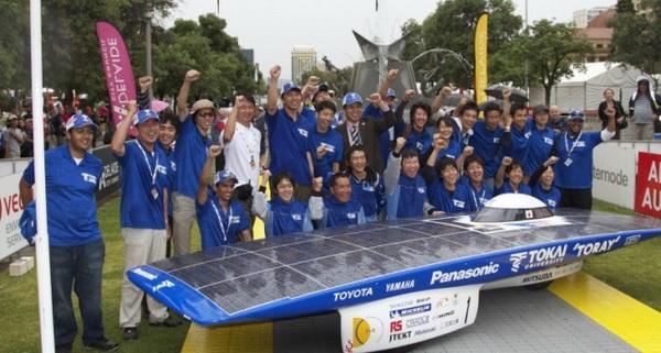 Tokai Challenger 2 победитель гонки Дарвин-Аделаида