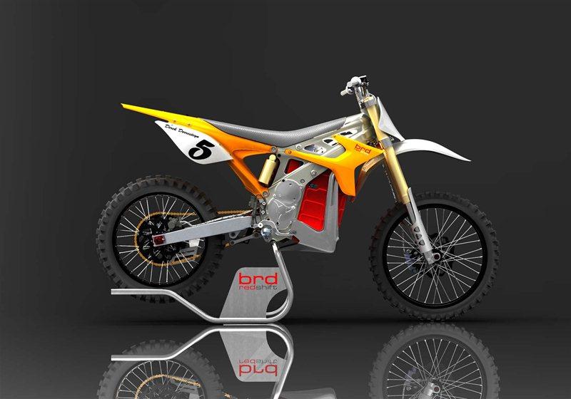 электромотоцикл BRD