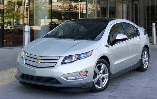 электрокар Volt от Chevrolet