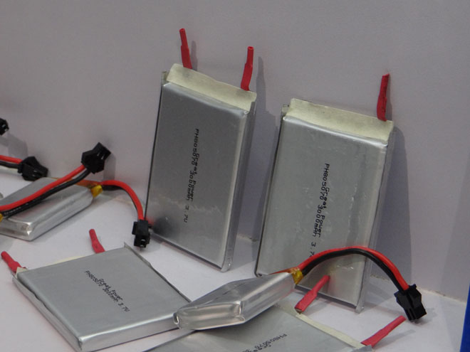 плоские элементы для аккумуляторов