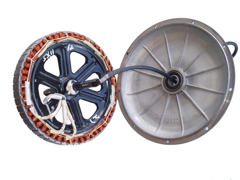 Фото внутреннего устройства мотор-колеса 48В/600Вт