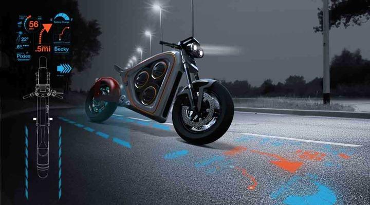 Электромотоцикл Frog Rana-2