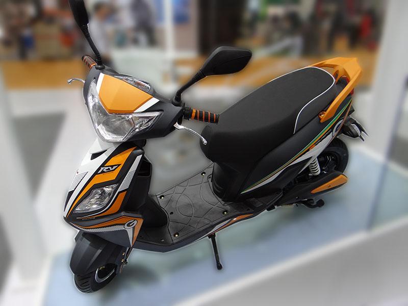 Китайский электроскутер с мотор колесом Boshа